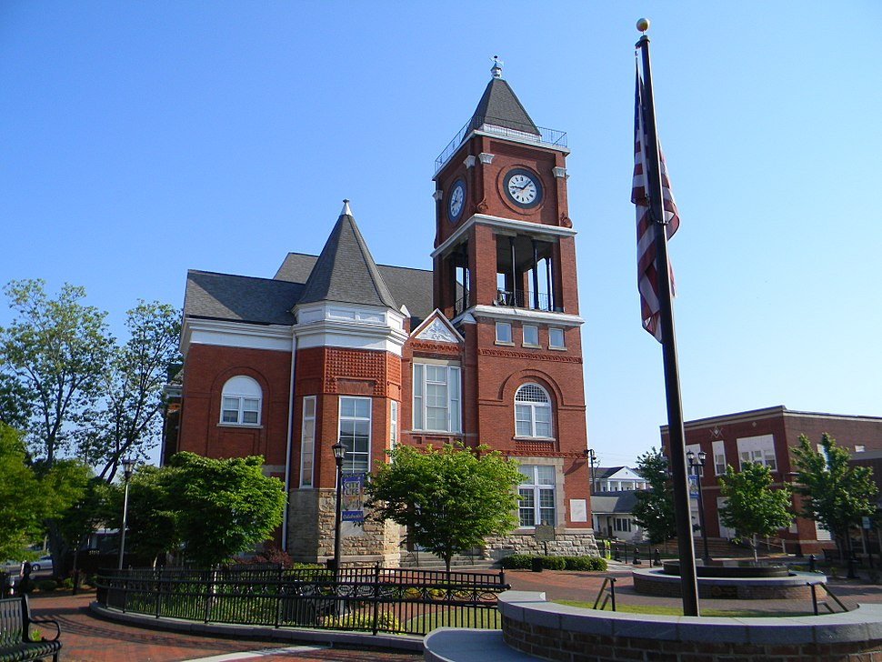 Historical Paulding County Courthouse - Dallas GA