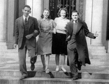 Students of Armstrong College, circa 1950