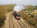 Hogwarts Express (5972) pulling into Heyford Station - geograph.org.uk - 94698.jpg