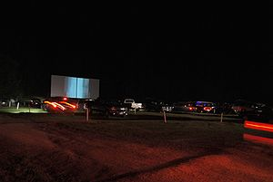 English: Hollywood Drive In on Route 66 in Ave...