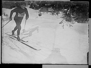 Otto Aasen Norwegian nordic skier
