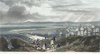 Holyhead breakwater & harbour of refuge