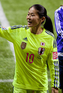 Homare Sawa Japanese association football player