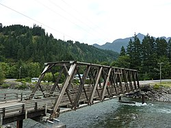 Hope, BC - Bridge used in movie First Blood.JPG