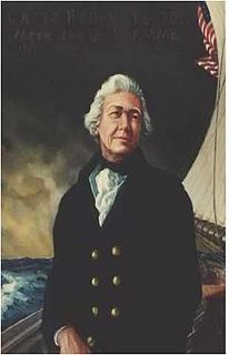 Hopley Yeaton First Commissioned officer of the revenue cutter service