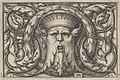 Horizontal Panel with a Bearded Amascaron in a Medallion at Center Surrounded by Tendrils MET DP837025.jpg