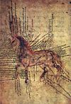 Horse medecine in Armenian. From a 13th Century manuscript.jpg