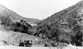Hospital Rock (Three Rivers, California) - Hospital Rock in Sequoia National Park