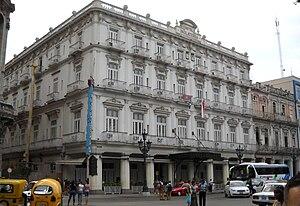 Hotel Inglaterra - Image: Hotel Inglaterra Havana 2009