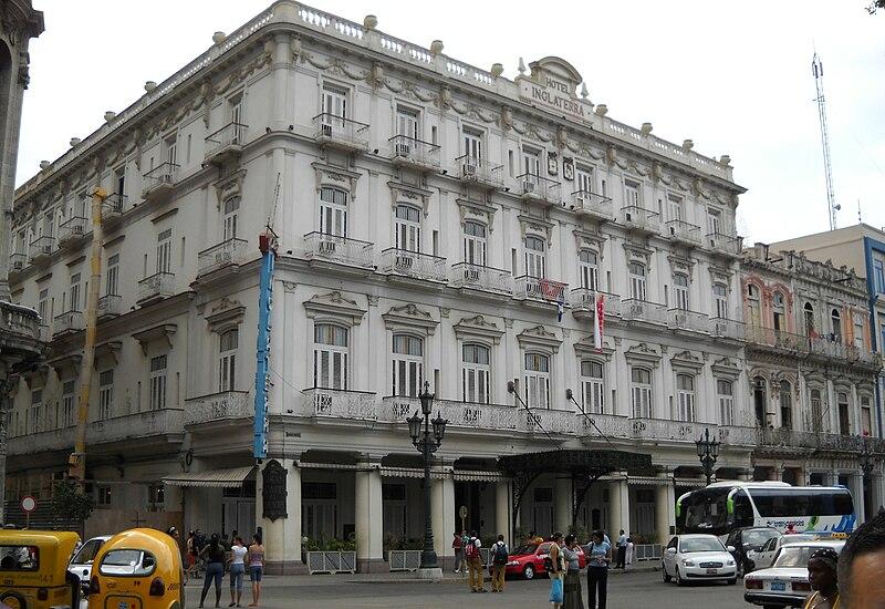 Hotel Inglaterra - Havana 2009.JPG