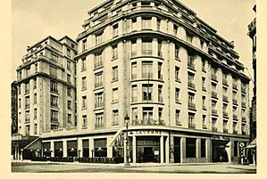 Indépendance Cha Cha - Hotel Plaza in Brussels where the song was first performed