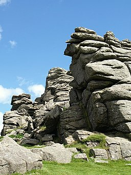 Hound Tor - geograph.org.uk - 860815