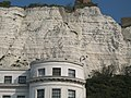 House (round) and cliffs (white), Dover - geograph.org.uk - 413032.jpg