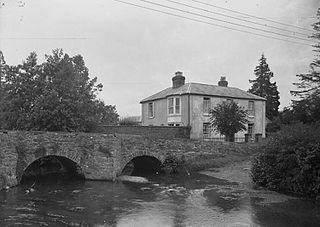 House near a bridge, Radnorshire
