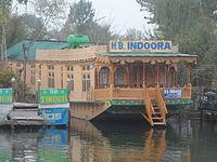 Houseboat in kashmir.JPG