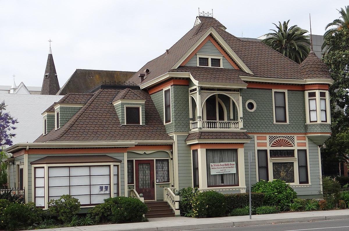Howe waffle house and carriage house wikipedia for Carriage house