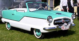 Nash Metropolitan - 1957 Hudson badged Metropolitan