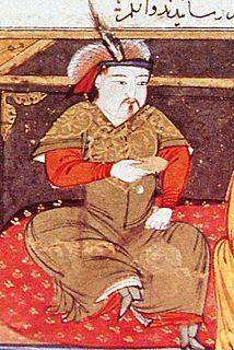 Hulagu Khan Ilkhan of the Ilkhanate