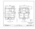 Hun House, 149 Washington Avenue, Albany, Albany County, NY HABS NY,1-ALB,5- (sheet 1 of 10).png