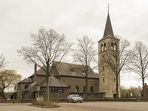 Hunsel - Church: de Sint Jacobuskerk