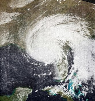 1966 Atlantic hurricane season - Image: Hurricane Alma