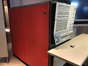 IBM System/360 Model 30 - closeup (profile) of 360/30 Console