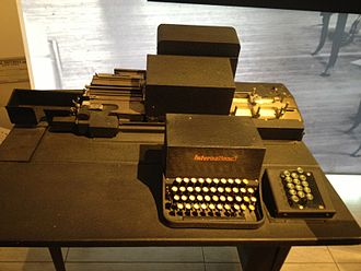 Keypunch - IBM Type 31 keypunch, circa 1933, at the Computer History Museum
