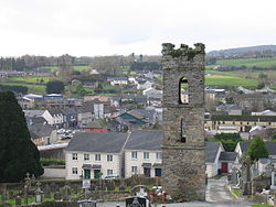 Baltinglass, from Church Hill