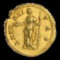 INC-1875-r Ауреус. Фаустина Старшая. После 141 г. (реверс).png