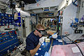 ISS-46 Timothy Peake works on the Advanced Colloids Experiment 2 in the Harmony node.jpg