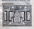 Iacobus de Cessolis, Libro di giuocho di scacchi, incunabolo, per maestro antonio miscomini, firenze 1 marzo 1493, 04 re.jpg