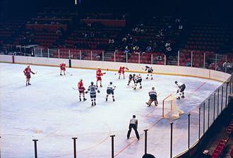 Ice hockey at the 1980 Winter Olympics - Canada vs. the Netherlands