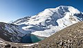 Ice lake on Thorong La - Annapurna Circuit, Nepal - panoramio.jpg