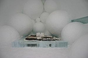 Icehotel (Jukkasjärvi) - Image: Icehotel se 25