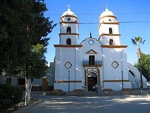 Ures - Saint Miguel Church, Ures local temple.