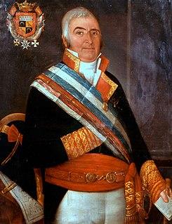 Ignacio Maria de Álava y Sáenz de Navarrete Spanish naval commander