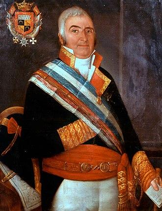 Ignacio Maria de Álava y Sáenz de Navarrete - An 1818 portrait of Admiral Álava, Museo Naval de Madrid
