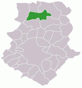 Snagov - Image: Ilfov Snagov map