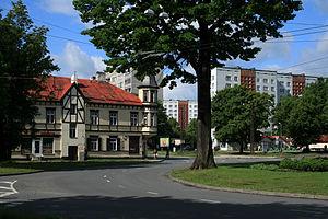 Iļģuciems - Buļļu street in Iļģuciems