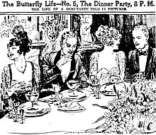 the dinner party short story analysis
