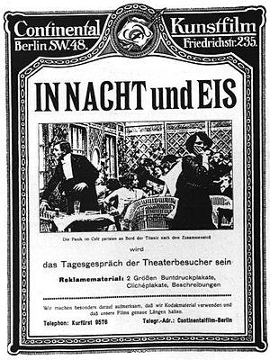 In Nacht und Eis - Theatrical release poster