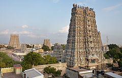 meenakshi amman temple   wikipedia