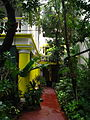 India - Pondicherry - 005 - lush entrance of the Coloniale Guesthouse (4179289677).jpg
