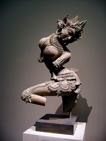 File:India semi-devine attendant Dancing Celestial.jpg