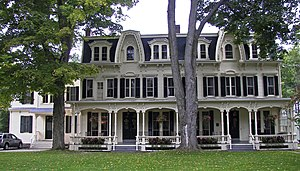 National Register of Historic Places listings in Otsego County, New York - Image: Inn at Cooperstown, New York