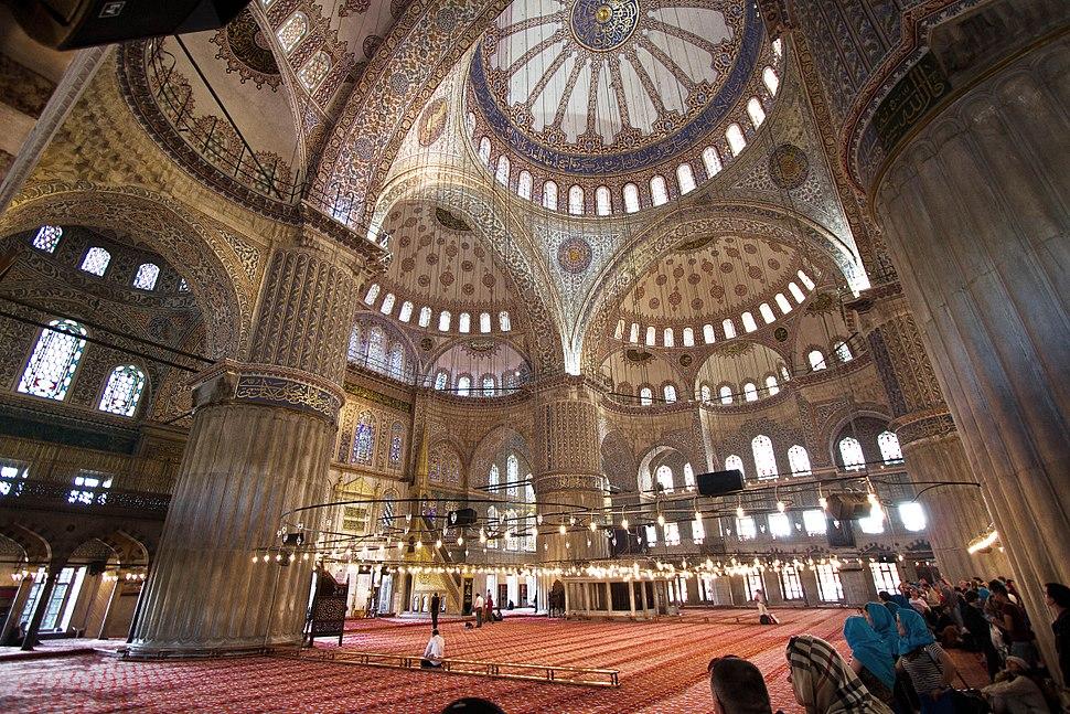 Inside Blue Mosque 3