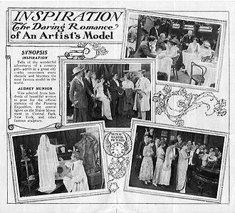 Inspiration (1915 film) - Promotional brochure interior