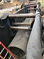 Installation of utilities in a newly excavated trench east of Queens Boulevard. (CQ033, 1-12-2018) (27989254249).jpg