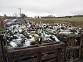 Insulating bottles ready for round house floor.jpg