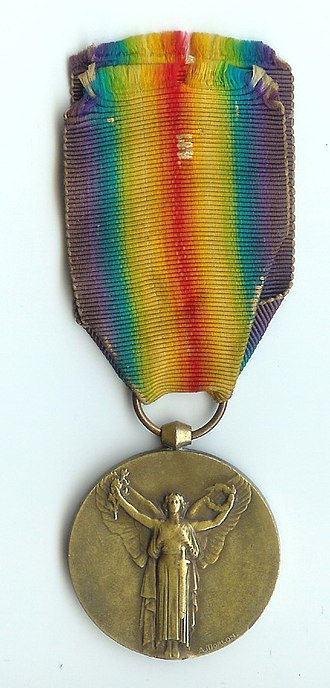 1914–1918 Inter-Allied Victory medal (France) - Image: Interalliée 14 18 recto